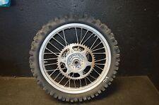 #714 1996 Honda cr 250 cr250 Rear tire wheel rim assembly