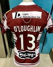 Wigan Warriors Team  Signed Game  Players Jersey Issue 2016