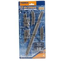 Tomix 91082 Mini Rail Set Points Set (Track Layout MB) - N