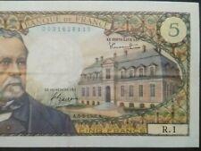 """Série:R.1"""".5frs PASTEUR A5.5.1966 AUCUNEfente 2trous BANK"""