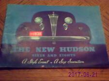 1936 Hudson  Sixes  and  Eights  Sales  Catalog -Original