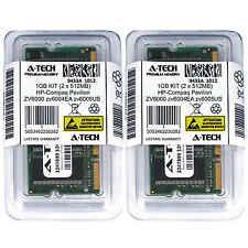 1GB KIT 2 x 512MB HP Compaq Pavilion ZV6000 zv6004EA zv6005US Ram Memory