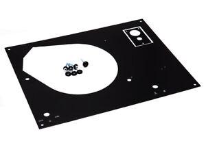 Thorens TD... für 160 165 166 MKII MKIV Deckplatte Face Plate Abdeckung BLA