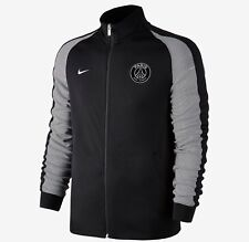 Nike Paris Saint Germain N98 FZ Football Jacket Top 810316 014 Black White Small