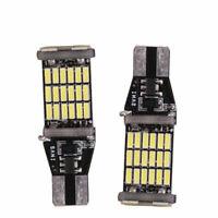 1X(2 X T15 W16W 45 Smd 4014 Led Voiture Inverse Rétro-Éclairage Ampoules 6 RFV