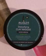 Sukin Super Greens Detoxifying Clay Masque 50ml