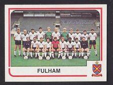 Panini - Football 84 - # 412 Fulham Team Group
