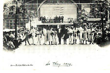 "New ListingBlack Americana Postcard ""The Cake Walk on the Pier""-Dancers Ready for show"
