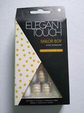 Elegant Touch False Nails - Sailor Boy Short - 24 nails 10 sizes