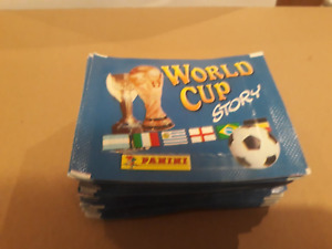 PANINI STICKER WORLD CUP STORY   (50 loose Packs)