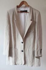 Zara Blazer Plus Size Button Coats & Jackets for Women