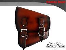 LaRosa Harley V Rod Night Rod Special Vintage Shedron Leather Left Saddlebag