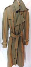 Orig. BURBERRYS Trenchcoat Mantel Gr. 50/52 beige Nova Check Gürtel Baumwolle