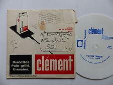 Disque souple flexi Biscottes Clément C est ma chanson CHAPLIN DELANOE