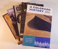 Lot (5) COLORADO History Photographs Rockies Sidelights