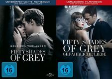 Fifty Shades of Grey 1+2 # 2-DVD-SET-NEU