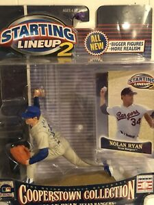 Starting lineup 2 Cooperstown Collection Nolan Ryan figure Hall of Fame