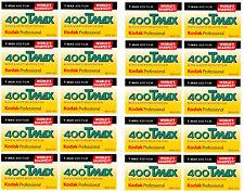 20 Rolls Kodak T-MAX 400 35mm Film TMY 135-36 B&W Black & White Negative 6/2019