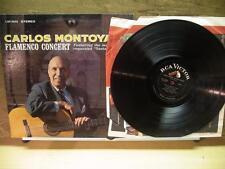 Carlos Montoya: Flamenco Concert (VG+ RCA Dynagroove LP) Saeta guitar