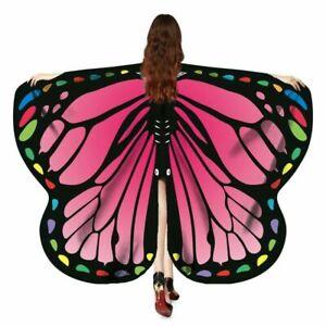Butterfly Wings Adult Womens Halloween Costume Fancy Dress