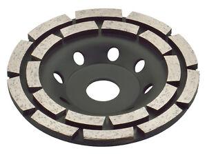 TRONGAARD DIAMANT SCHLEIFTELLER / SCHLEIFTOPF 125MM / 19mm TOPFSCHEIBE 125 #601