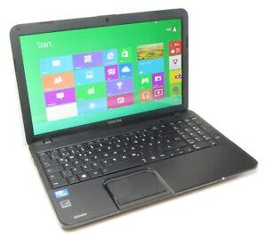 "TOSHIBA SATELLITE PRO C850 15.6"" INTEL CORE i3 3rd GEN 6GB RAM 250GB HDD WIN 10"