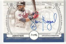 2015 TOPPS MUSEUM SILVER JASON HEYWARD ON CARD AUTO 01/99 AA-JH BRAVES CUBS NM