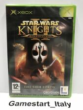 STAR WARS KNIGHTS OF THE OLD REPUBLIC II 2 (XBOX) NUOVO SIGILLATO - NEW PAL