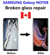 Samsung Galaxy Note 8 Cracked Glass ONLY/Working LCD mail-in Repair Service