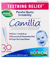 Boiron Camilia, Baby Teething Relief, 30 Doses. Teething Drops for Painful...