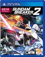 Used PSV PS VITA Gundam Breaker 2 Import Japan Free Shipping F/S