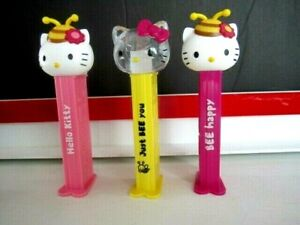 Newest 2021 Hello Kitty BEE Pez, Non US release-Fast $3.99 Ship to U.S.
