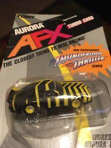 Afx Tomy Turbo  Thunderloop Thriller  Yellow & Black Camaro New