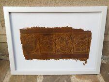 Rare antique tissu COPTE - Romano-Egyptien  c. 100 - 400 A.D.