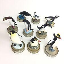 Miniature Penguin Figure Collection 9 pcs Set Kaiyodo Penguin's Lunch 2 Japan