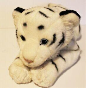 "Animal Alley Toys R Us White Tiger Plush 18"" Stuffed Animal Safari Big Cat 2000"