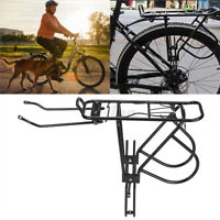 Alloy Bicycle Rear Rack Double Bicycle Pannier Bag Cycling MTB Bike Cycle   #!