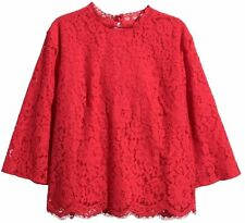 H&M Blouse Lace Tops & Shirts for Women