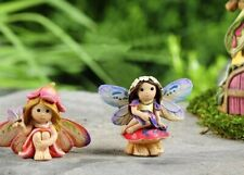 Fairy Garden Mini - Fairytale Sitting Fairies Set of 2