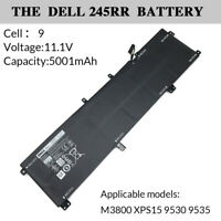 Genuine Laptop Battery 91Wh 9 Cell for DELL 245RR M3800 XPS15 9530 9535