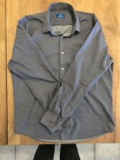 Toscano Men's Large long sleeve button up Shirt Excellent Condition!