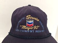 "Vintage Chevron ""Magic 90"" Logo NW Region Blue  Adjustable Snapback Cap/Hat OS"