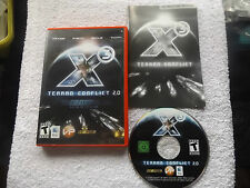 X 3-Terran Conflict 2.0 Aldrin Missions Apple Mac sehr schnelle Post komplett