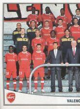 496 EQUIPE TEAM 1/2 VALENCIENNES.FC  STICKER FOOT 2011 PANINI