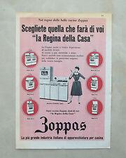 C874 - Advertising Pubblicità - 1959 - ZOPPAS APPARECCHIATURE PER CUCINA