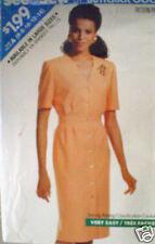 Vintage Butterick Pattern Dress 8 10 12 14 3863 SEWING