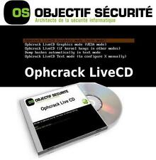 OphCrack DVD Recover Lost - Forgotten Passwords On Windows XP -Vista - Seven - 8