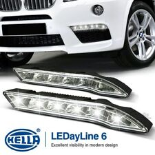 New & Genuine HELLA LEDayline 6 Daytime Running Lights 12V DRL LED Complete Kit