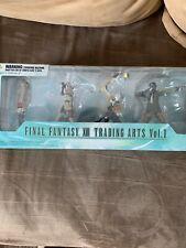 Final Fantasy XIII Trading Arts Vol. 1 Serah Lightning Hope Sazh NEW/OVP