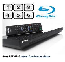 Sony BDP-S790 3D Built in 4K WiFi DVD MULTI REGION (1-8) SACD  Blu-Ray Player Mk